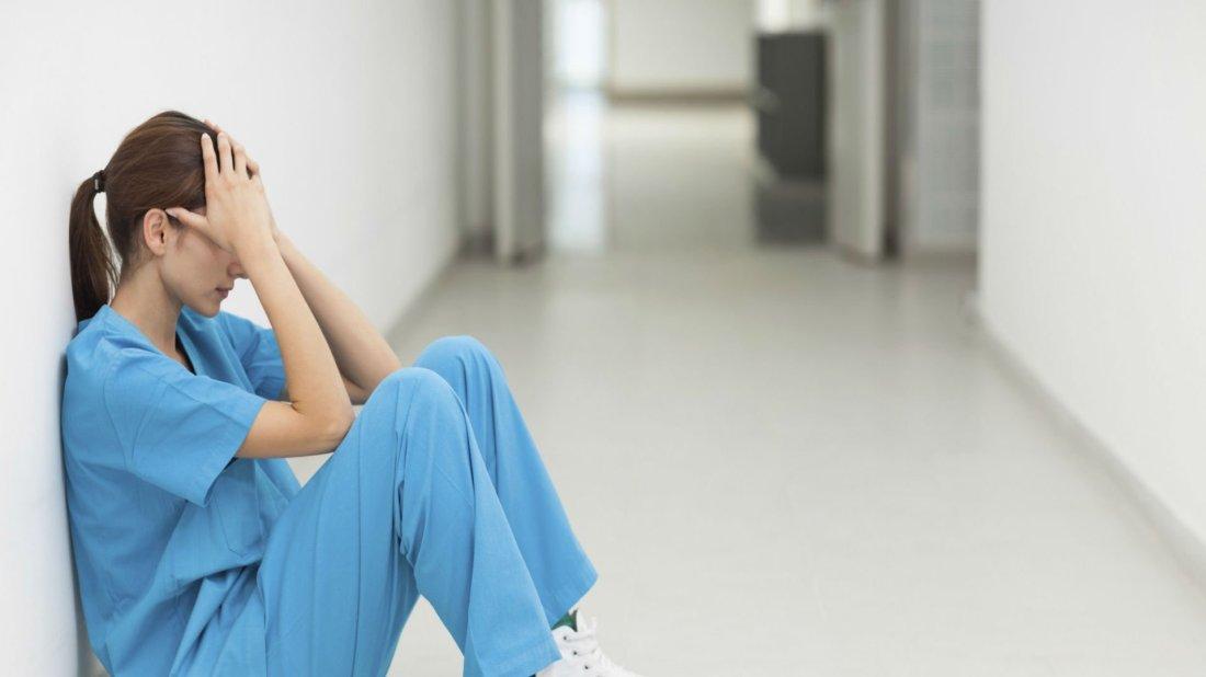 Sad Nurse