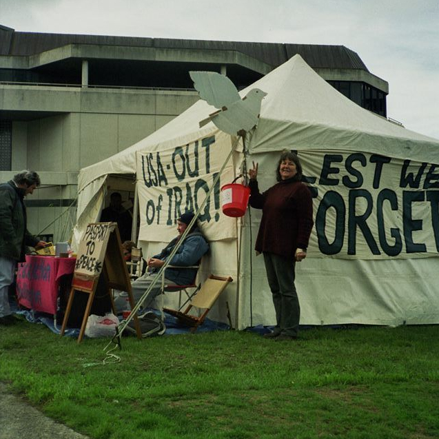 Anti War protest April 2003