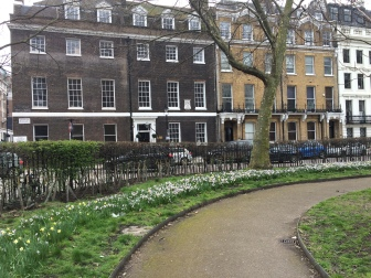 Bloomsbury Square near the British Museum