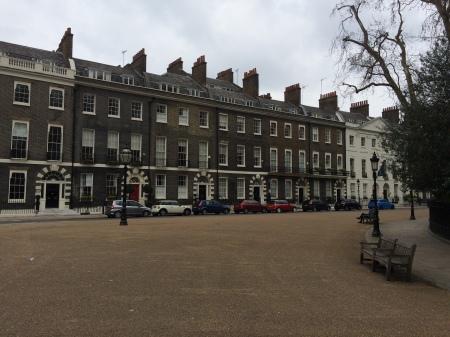 Street scene near Russell Square