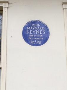 Keynes residence
