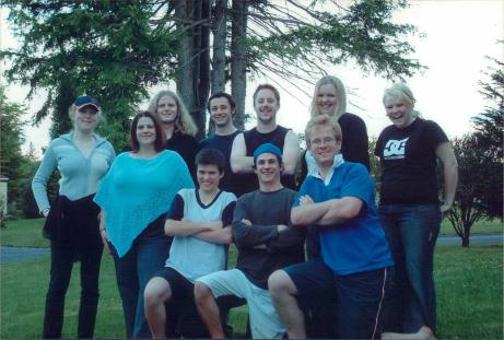 The 2005 VUWSA Exec retreat in Ohakune