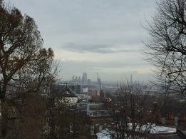 View of the city from Fenton House